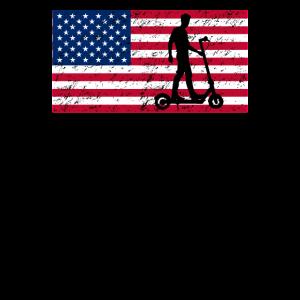 Amerika Amerikanischer E-Scooter Elektroroller