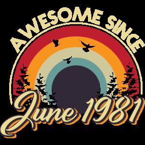 Jahrgang 1981 Juni 40. Geburtstag