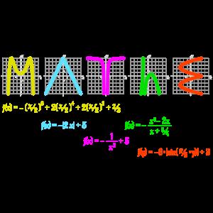 Mathe mit Funktionen bunt
