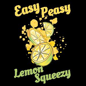 Easy Peasy Zitrone quietschen den Sommer