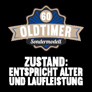 60 Jahre Oldtimer Sondermodell 60. Geburtstag