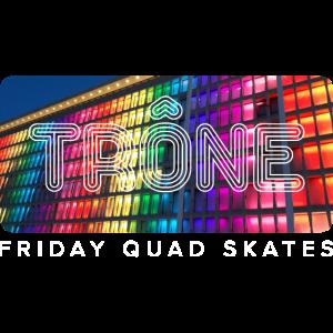 Thron Friday Quad skates - darker
