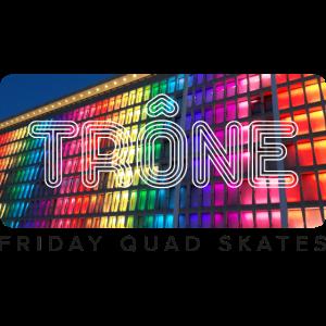 Thron Friday Quad skates - white