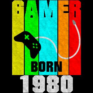 1980 Geborener Zocker Gaming