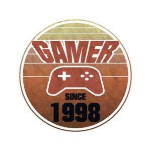 1998 Geborener Gamer Geburtstag