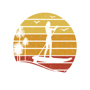 Stand Up Paddle SUP Girl - My Happy Place
