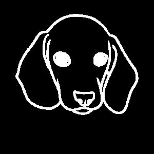 Dackel Hund Hundeschnauze Silhouette Hunde