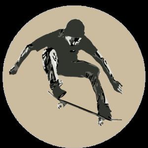 skateboard,kreis,retro,skater,vintage,beige