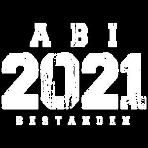 Abi 2021 bestanden grunge Abschlussklasse