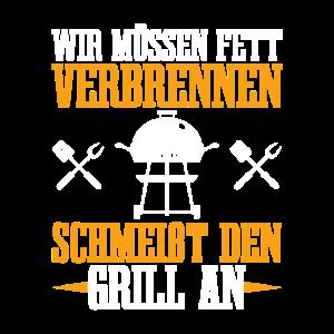 Grillparty Grillsaison BBQ Grillen Geschenk