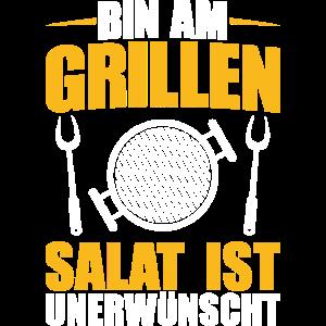 Grillen Kein Salat Grillparty Griller Geschenk