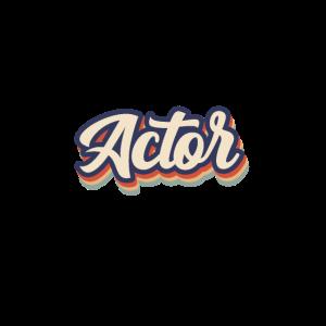 Actor Vintage Colors
