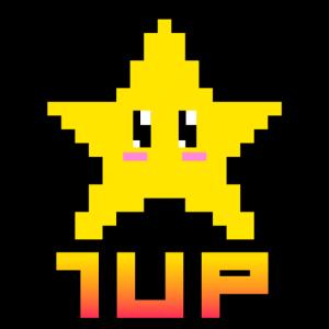 1up Pixel Star