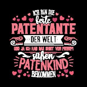 Ich bin die beste Patentante der Welt