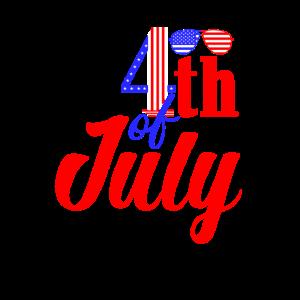 4. Juli USA Feier 1776