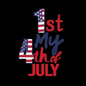 Erste 4. Juli USA Feier 1776