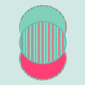 3 circle shells