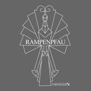 Vorstellbar Rampenpfau Logoshirt