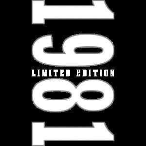 1981 Limited Edition | Geburtstag