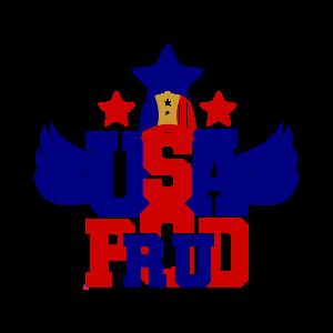 4. Juli Stolze USA Stars Stripes