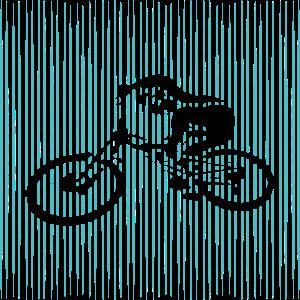 Fahrrad MTB Linien