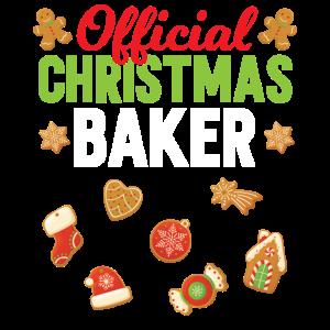 Offizieller Weihnachts Bäcker