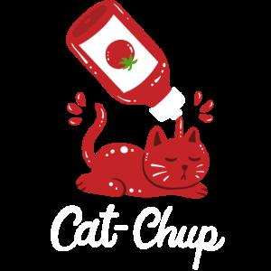 Katze Ketchup Kawaii