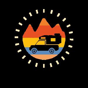 Pickup Camper Vintage Wohnkabine Retro Camping
