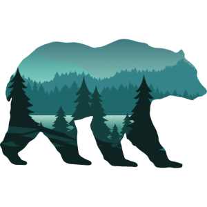 Bär, Wald ,Wildnis, Surreal Wildlife Animal