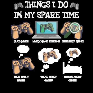 Dinge Die Ich In Meiner Freizeit Gaming Gamer