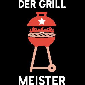 Der Grillmeister ein lustiges Grillen Grill Spruch