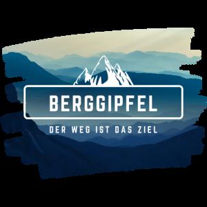 Berggipfel - Das Bergsteiger Design