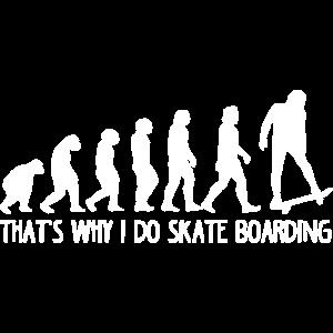 Skateboarding Evolution
