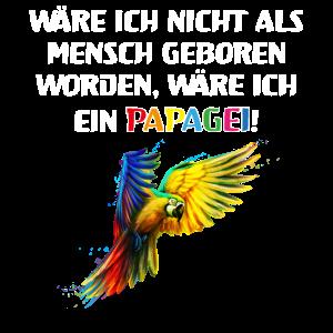 Papagei Sprüche lustige Tierliebe