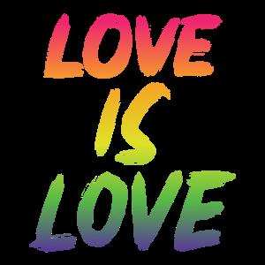 Love is Love Rainbow edition - Regenbogen LGBTQ+