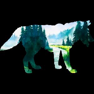 wolf wild wald jäger natur camping outdoor save