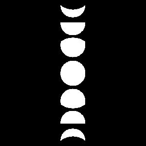 Mond Mondzyklus Mondphasen Astronomie Kosmos