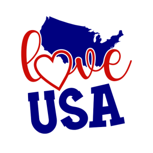 4. Juli USA Feier 1776 Liebe