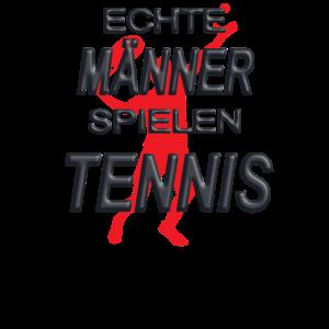 Tennis Design mit Spruch als Geschenk