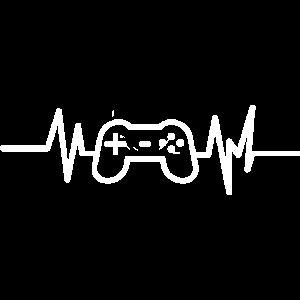 Gaming Gamepad Herzschlag Gamer