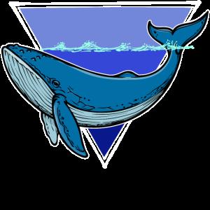 Tier Blauwal
