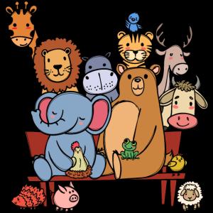 Tierwelt Lebewesen Bär Elefant Löwe Cool