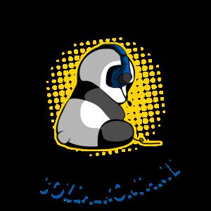 Gaming Panda Unnötiger Sozialkontakt Zocken Gamer
