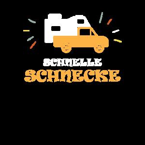 Schnelle Schnecke Pickup Wohnkabine Camping
