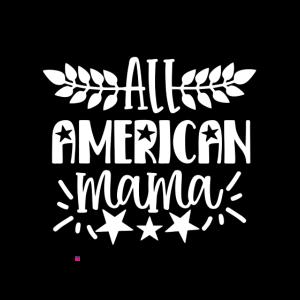 4. Juli USA 1776 Mama Mama Mama