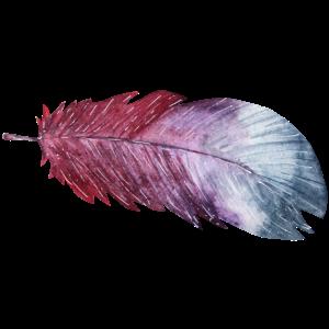 Watercolor Feder