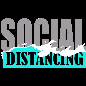 Social Distancing. Ausgangssperre, Lockdown.