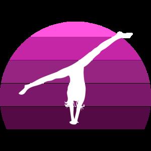 Turnerin Handstand Spagat Gymnastik Turnen
