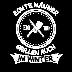 Wintergrillen Grillen Grill Grillmeister Geschenk