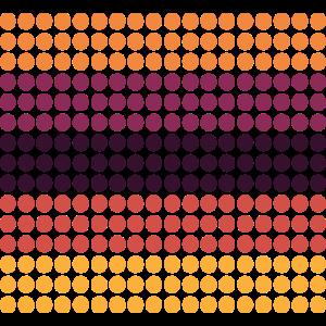 Retro Muster Vintage Style Dots Geschenkidee